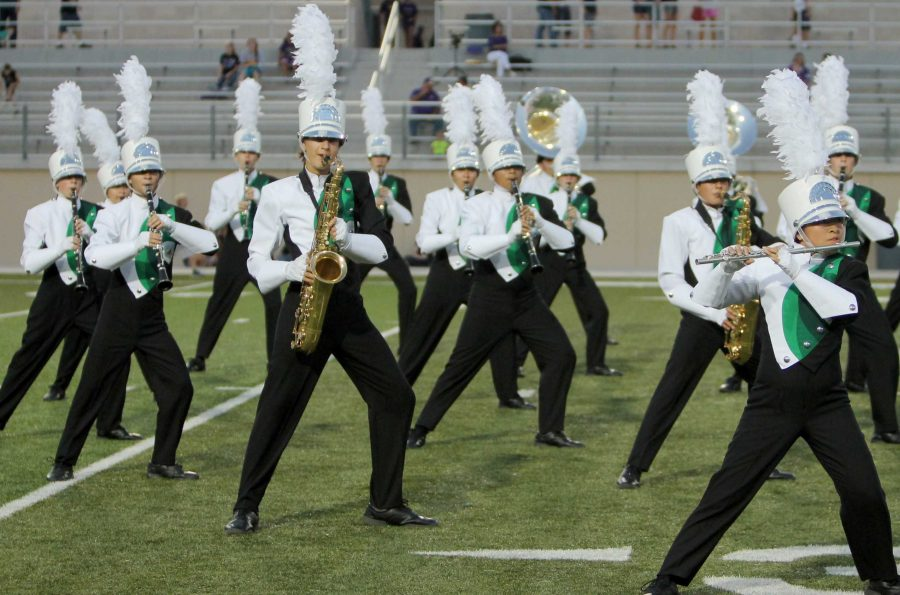 Band places 14th at Bands of America Super Regional contest