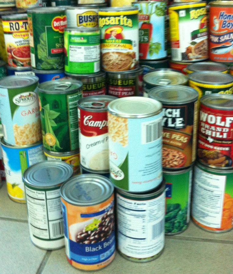 CPHS competing to defend Championship Plaque in annual food drive