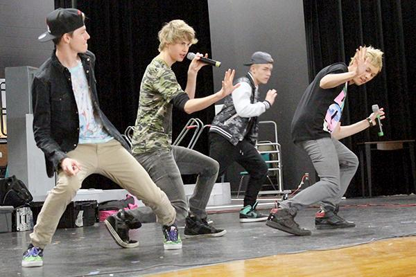 Anti-Bullying Boy Band takes CPHS