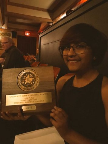 Cheryl Cruz's Short Film, Morpho, Places Third in UIL Traditional Animation DV 2