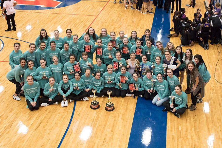 The Celebrities on multiple awards at their Competition in Waco and are headed to Nationals.