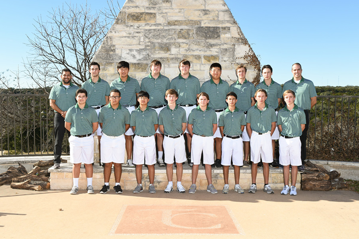 The+boys+golf+team+will+head+to+Wolfdancer+Golf+Club+in+Bastrop+to+compete+in+the+State+tournament+from+May+22-23.
