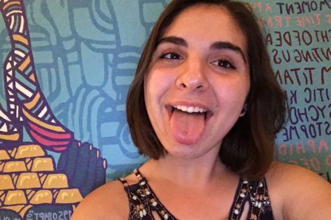 Nika Torabi Paints Foster the People Album on Her Wall