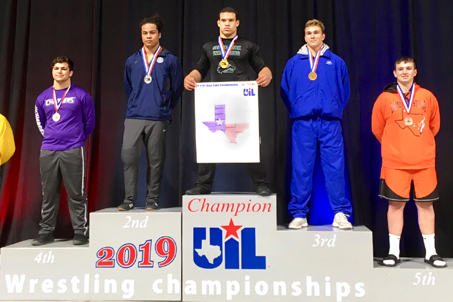 Senior Jacob Muñoz becomes the second wrestler to win first place at the state tournament.
