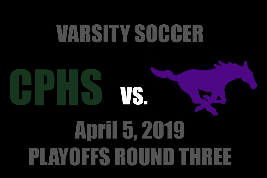 The Cedar Park varsity men's soccer team faces off against Marble Falls on April 5 in round 3 of soccer playoffs.