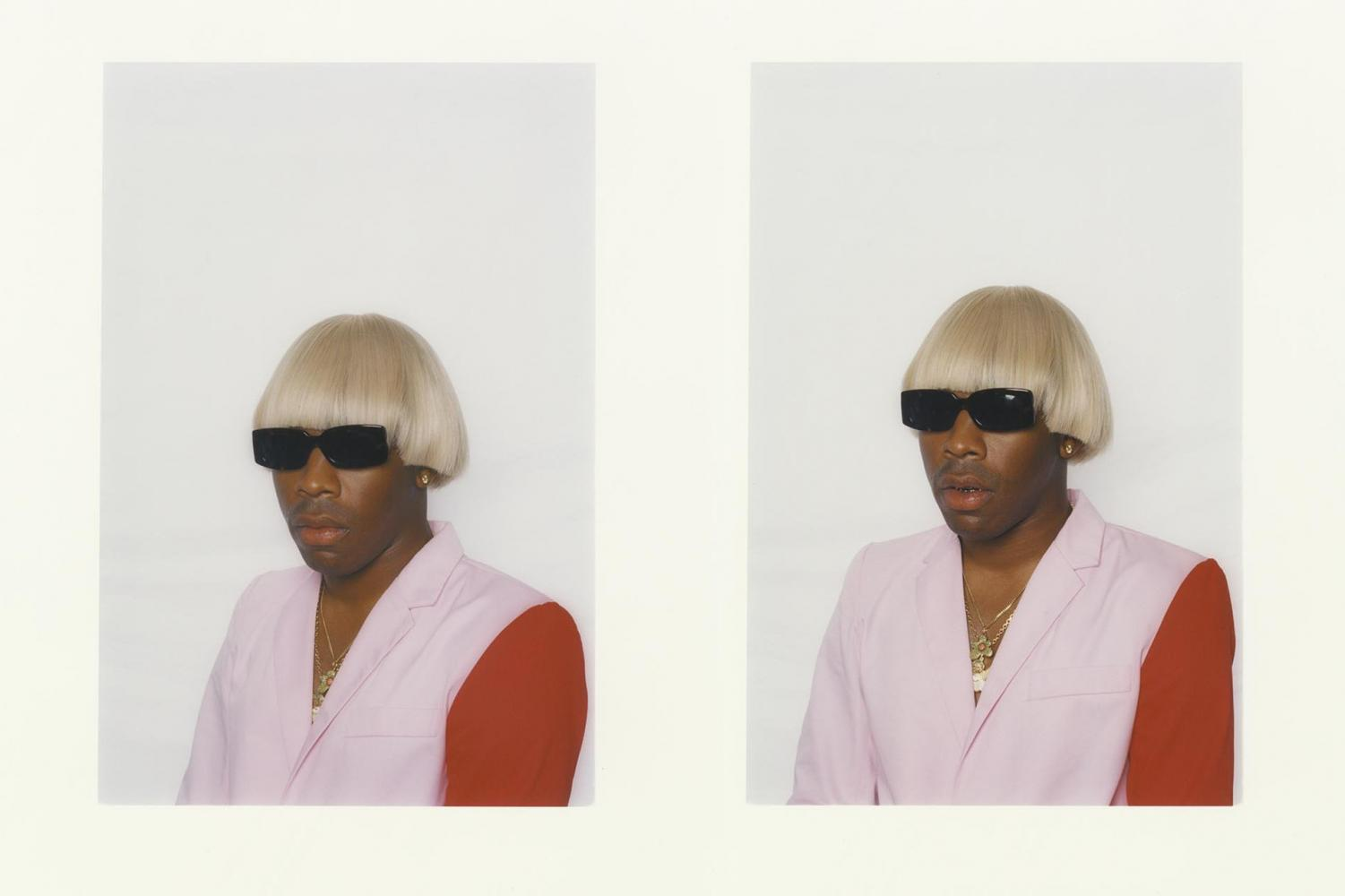 Tyler, The Creator sporting a new look before the release of IGOR