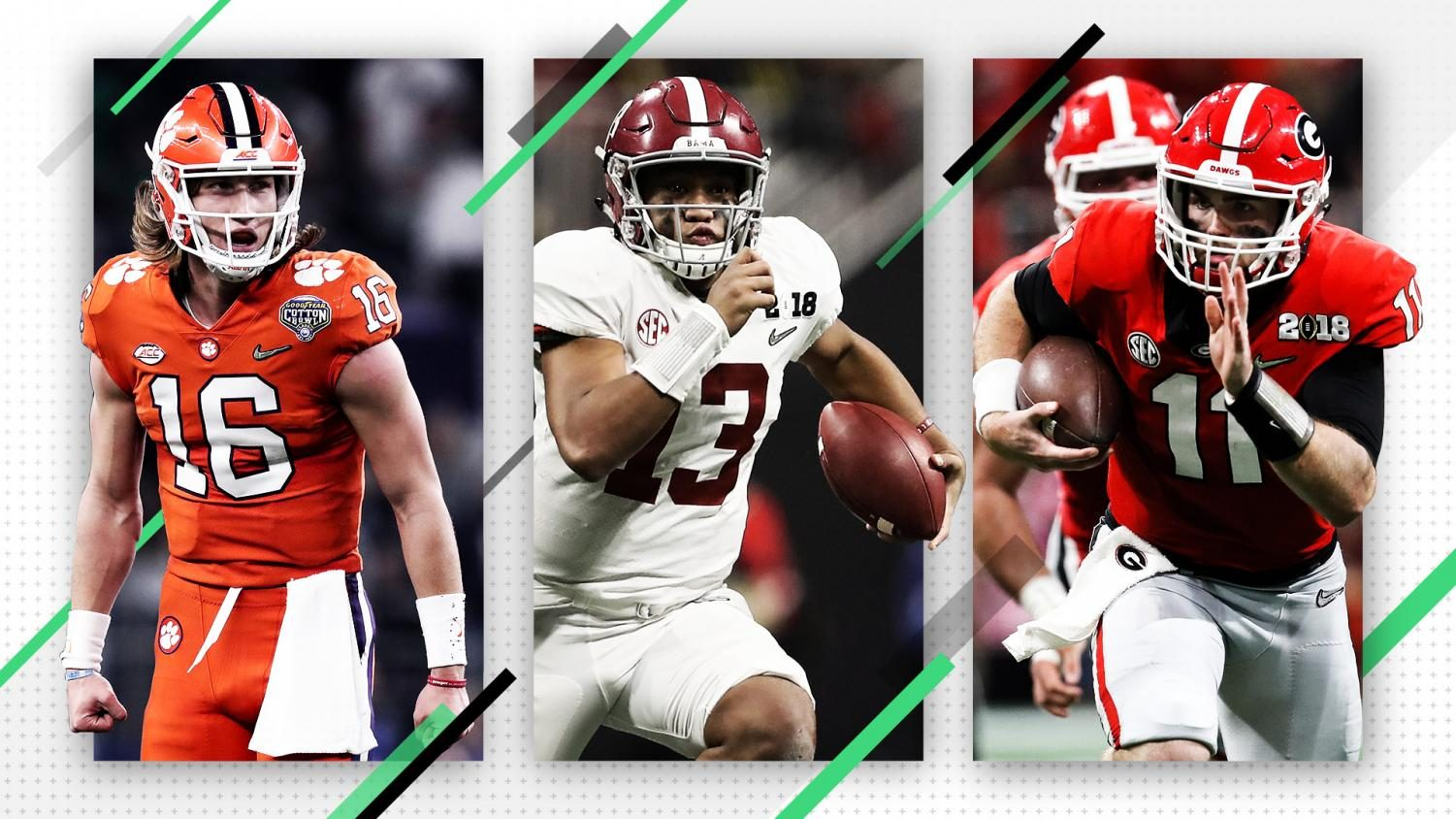 Noah Hedges gives his top 10 rankings for college football in 2019.