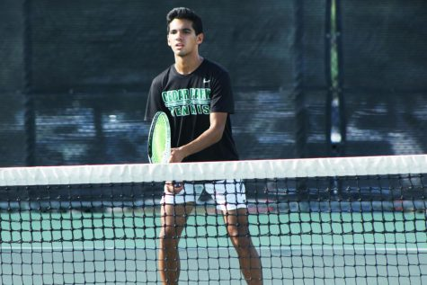 Varsity Tennis Ranked First in District