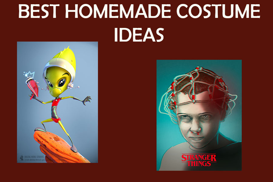 With Halloween approaching fast, it can be difficult to find the perfect costume in time. No worries, there is an easy way to make a great costume with only a few supplies.