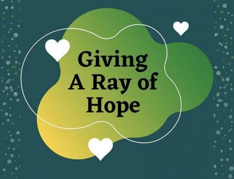 "Giving A Ray of Hope is a newly founded organization that strives to help children in hospitals, and are responsible for, not only participating in service projects, but also educating the community on diseases that infect children. The organization provides many opportunities for members to explore the medical field and contribute to their community. ""I would say that this organization really helps you have that role in your community and trying to help others,"" junior member Jillian Lach said. ""Not only does it help build responsibility, but it [has also] helped me meet new people and research and educate myself on a lot of things that I didn't know about before."""