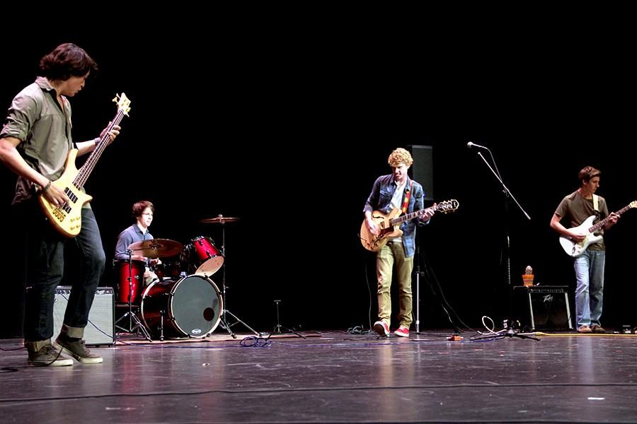 Members of Argyle Cactus perform at the annual Talent Show on April 24. Photo by Alex Sullivan