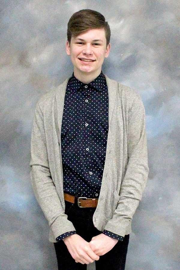 Luke Williamson, 2014-15 Sophomore of the Year.