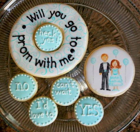 Creative crushes will use the two strongest motivators to ask their special date to Prom: food and originality.