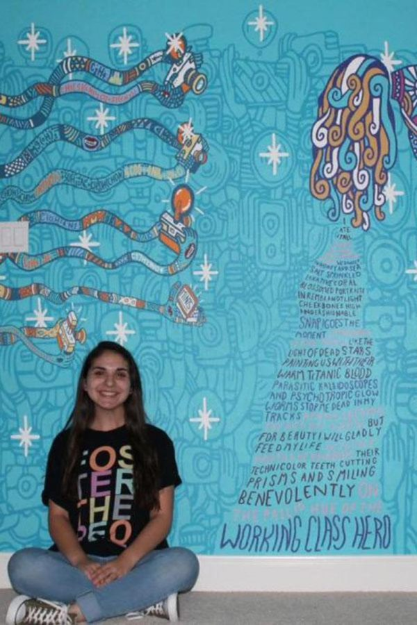 Foster+the+People+mural+painted+by+sophomore+Nika+Torabi+on+her+own+bedroom+wall.++%22I+used+a+projector+for+the+mural%2C%22+Torabi+said.+%22I+didn%27t+want+to+make+any+mistakes.%22