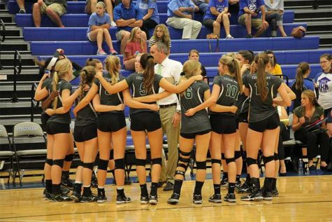 Volleyball sets into playoffs
