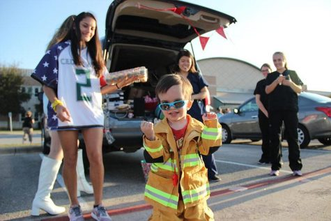 CP students make Trunk or Treat a hit