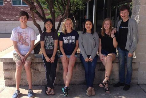 The 2016-2017 NHS officers .
