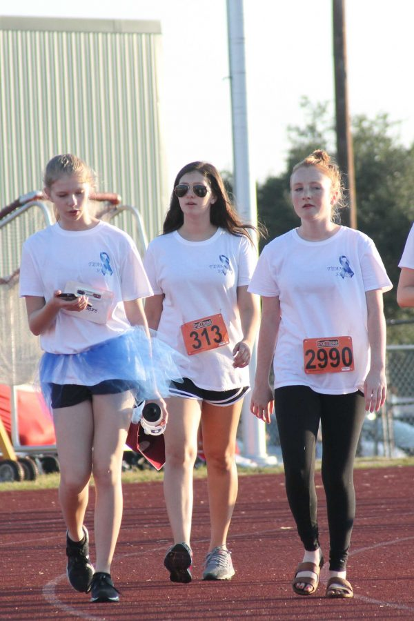 Students of CP were also seen at the Fun Run.
