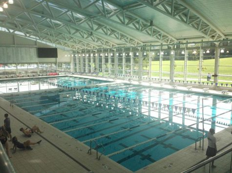 My favorite thing about Kenyon had to be their pool inside their recreational facility. It is easily one the most beautiful pools I have ever seen and I was told that when it snows you can get an amazing view from the glass wall.