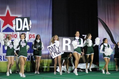 Cheer Places 24th in State at Competition