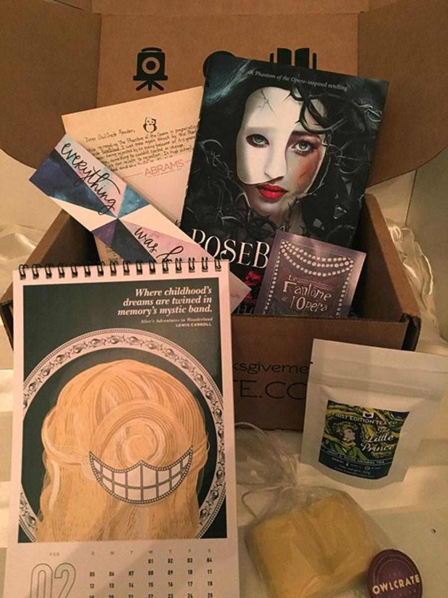 OwlCrate+is+a+monthly+subscription+service+that+sends+out+newly+released+young+adult+books+and+other+bookish+goodies+to+subscribers+once+a+month.