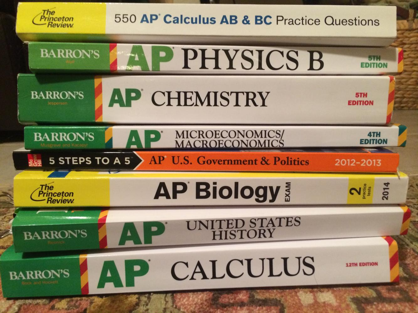 With AP tests just around the corner, it's important to destress and study, so you can perform your very best.