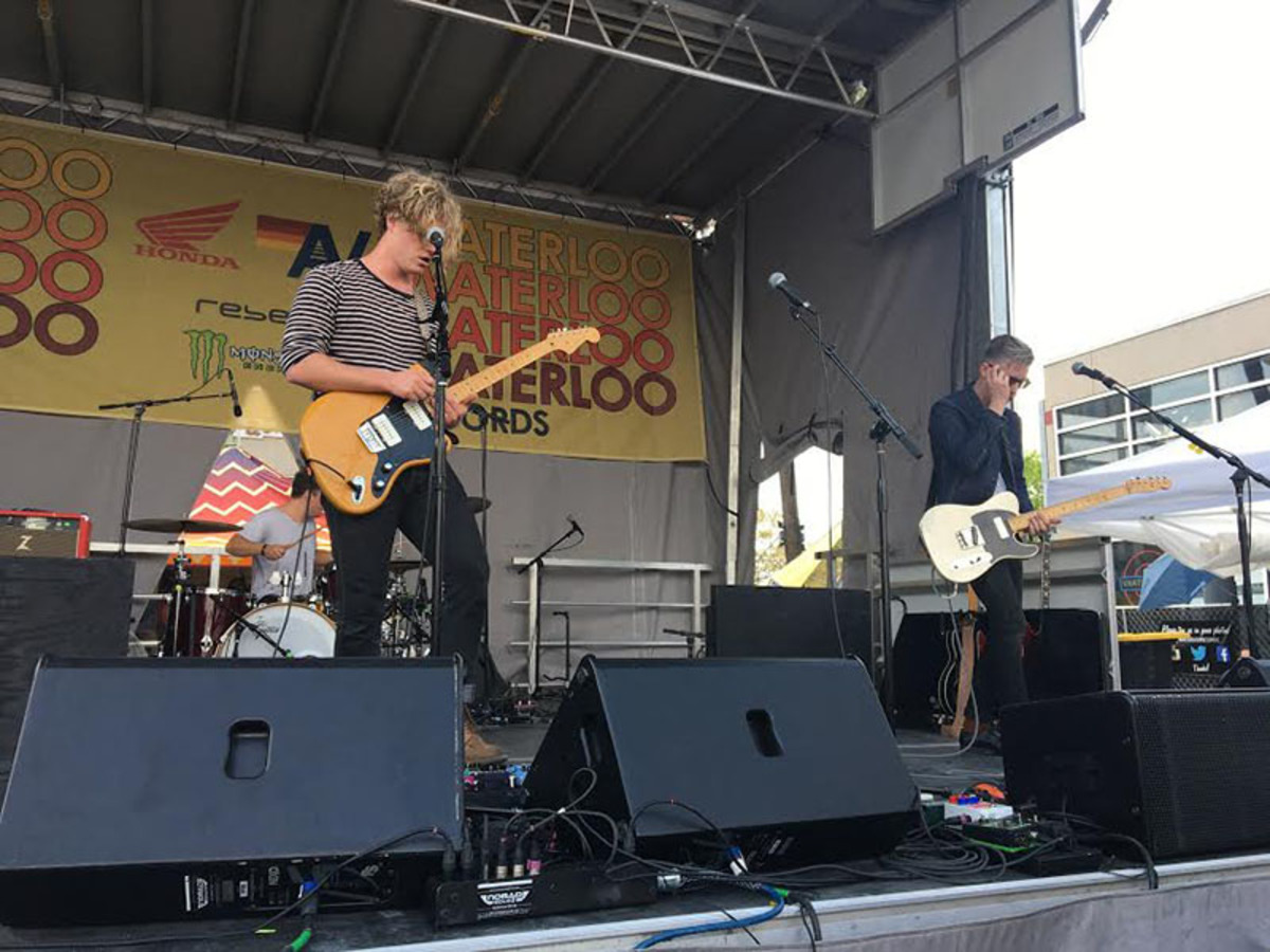 Colony+House+performing+at+South+by+Southwest.+%22I+wanted+to+go+to+SXSW+to+see+a+ton+of+bands+that+hadn%27t+played+in+Austin+in+a+while%2C%22+senior+Nika+Torabi+said.+