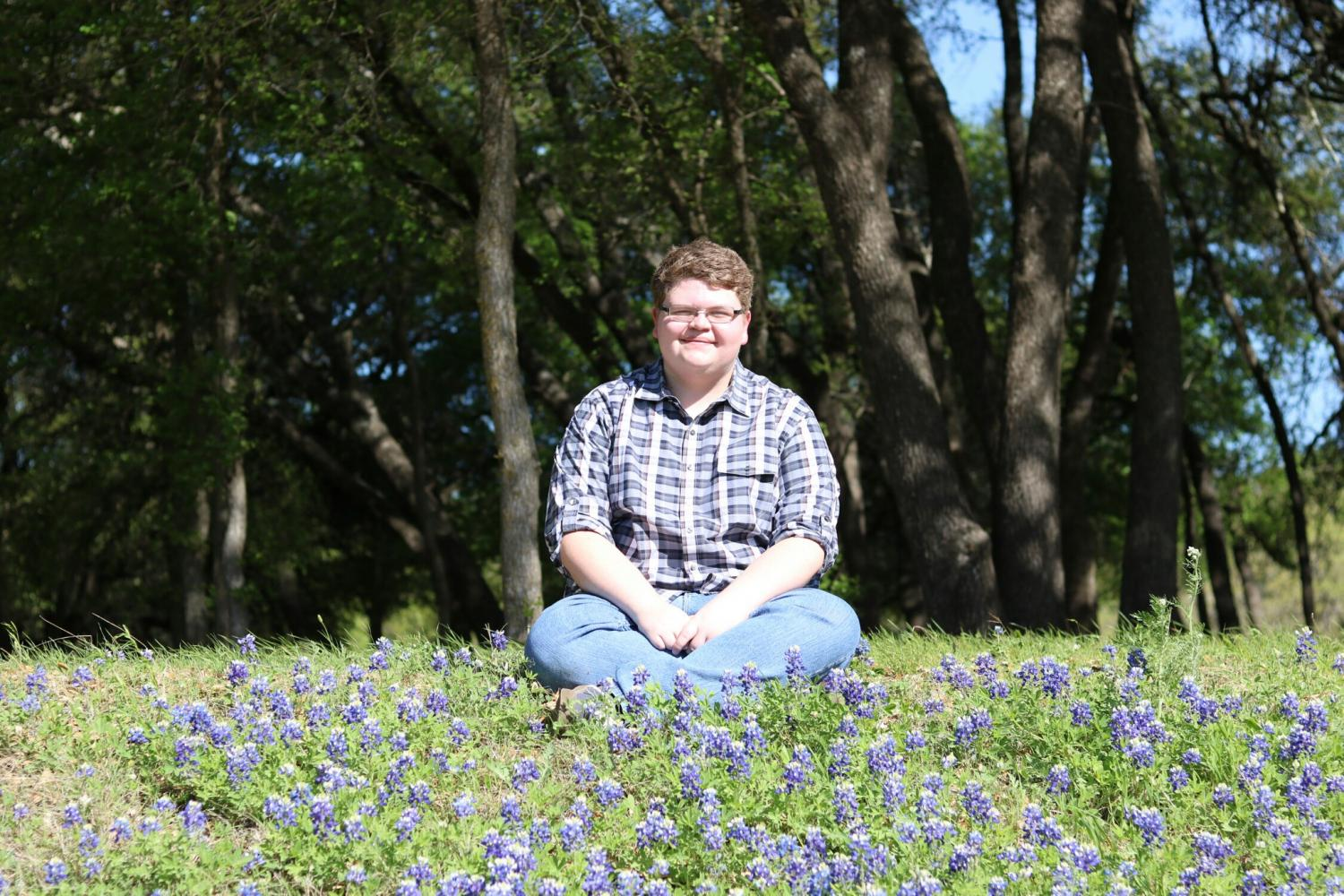 Excited for graduation, senior Zach Burleson can't wait to attend Stephen F. Austin University.