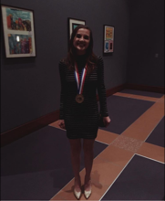 Madi Fujawa Wins State in Theatre Marketing