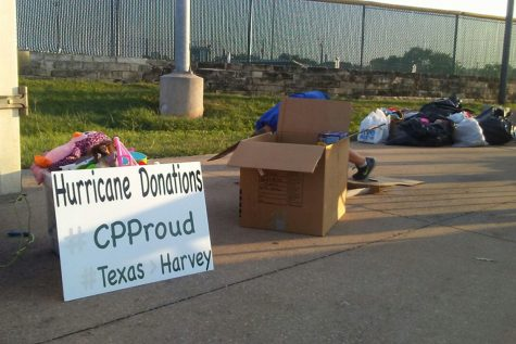 CP Makes Effort to Help Hurricane Victims