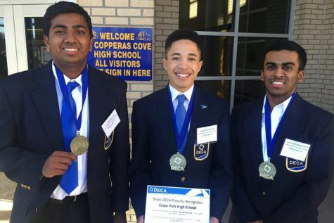 DECA Members Advance to State Competition