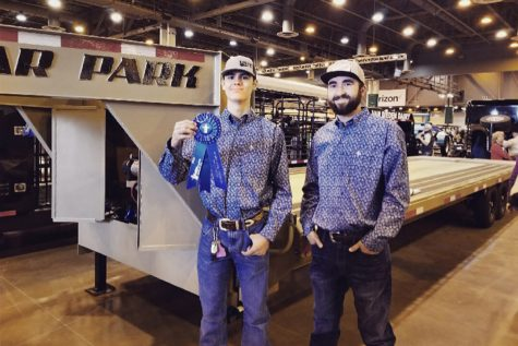 Trailer Hauls Home Fourth at Competition