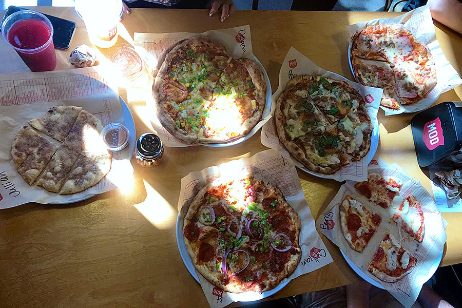 The Wondering Wolfpack Visits MOD Pizza