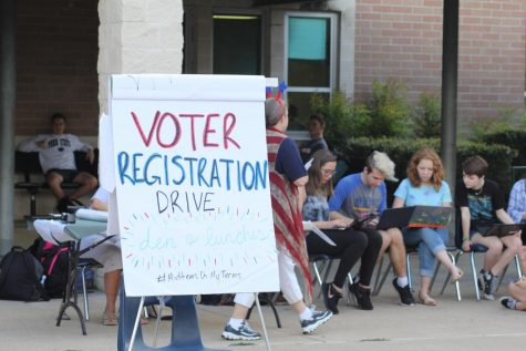 Rho Kappa Voter Registration Drive: a Success