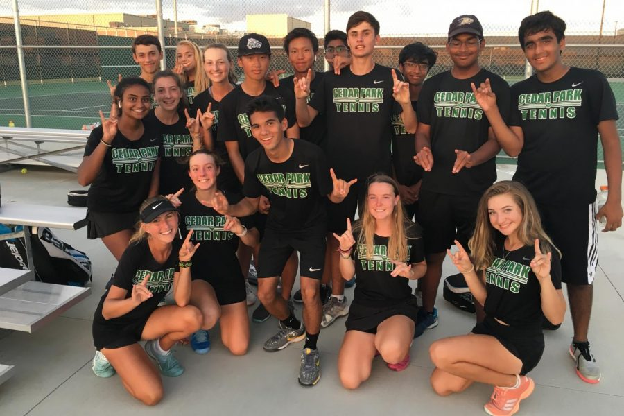 Tennis Team Serves Tough Competition Going Into Playoffs