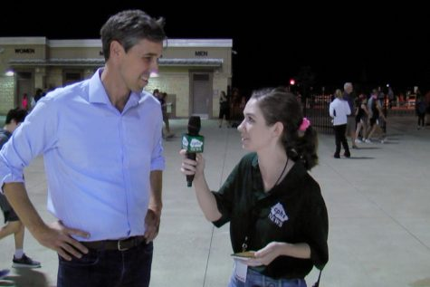 Senate Candidate Beto O'Rourke Talks Politics with CPHS News