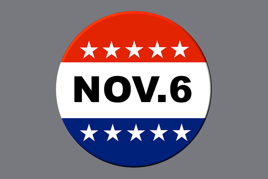 One day remains for registered voters to vote in the midterms. Voters must bring a valid form of ID to the polls.