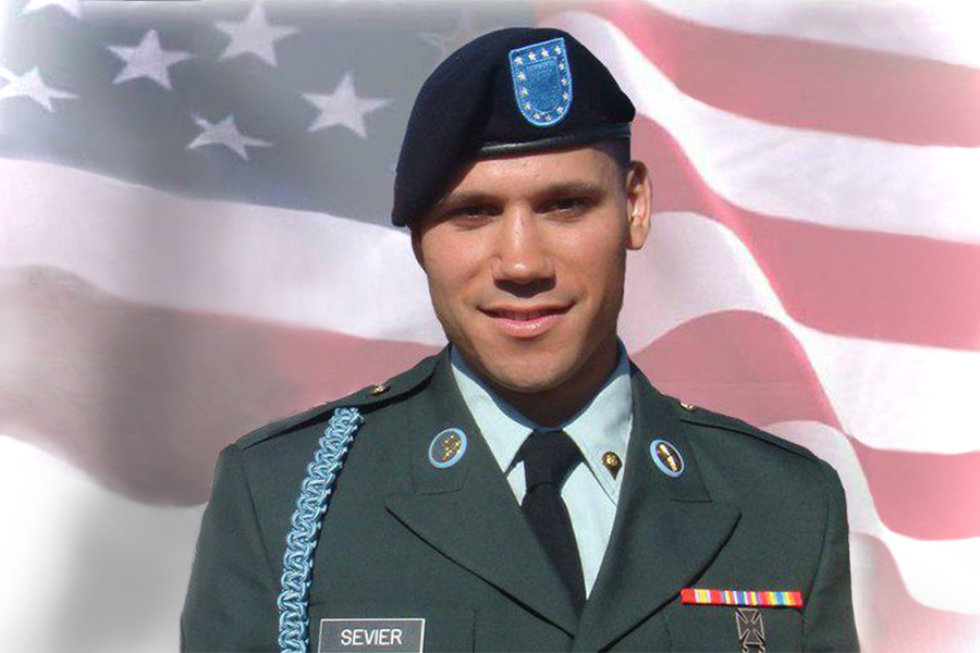 """After former baseball coach Jay Sevier passed away in the Army in 2009, his parents, Brenda and Rob Sevier, were told that he would be posthumously honored the Green Beret tab. He had just two months left of his training when he passed. """"It was a big honor, we were very humbled by it and very pleased,"""" Brenda said. """"We are very proud of Jay. He always put God first in his life, and that is what got him through."""""""