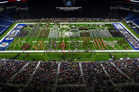 There's No Off-Season for Drum Corps Performers