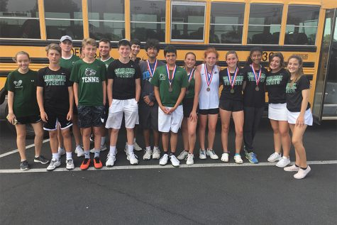 Tennis: District and Season Review