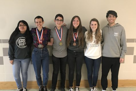 At UIL Districts, the UIL Journalism team had two students, freshman Tristan Hernandez and senior Deana Trautz, advance to Regionals.