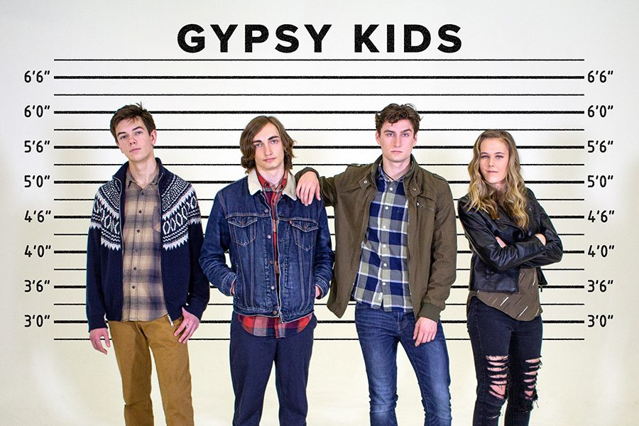 Gypsy+Kids+released+their+first+single+in+October+2018.+The+band+includes+Jack+Lambert+%28guitar%29%2C+Elik+Jazdzewski+%28bass%29%2C+Carson+Petocz+%28singer%29+and+Jordan+O%27Connell+%28drums%29.