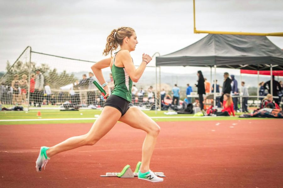 Senior+Sophia+Roach+runs+a+track+meet+at+Lake+Travis+High+School.+She+is+attending+Northern+Arizona+State+University+in+the+fall+and+has+received+a+scholarship+for+running+at+the+school.+%22I%27m+excited+to+try+something+new%2C%22+Roach+said.+%22I+think+that+college+is+the+best+time+to+do+that.+%5BI%27m%5D+excited+to+branch+out+and+see+a+new+experience+and+make+new+friends.+I+know+that+there+are+a+while+bunch+of+people+on+my+team+%5Bat+Arizona%5D+and+they+are+from+all+over+the+world.%22++