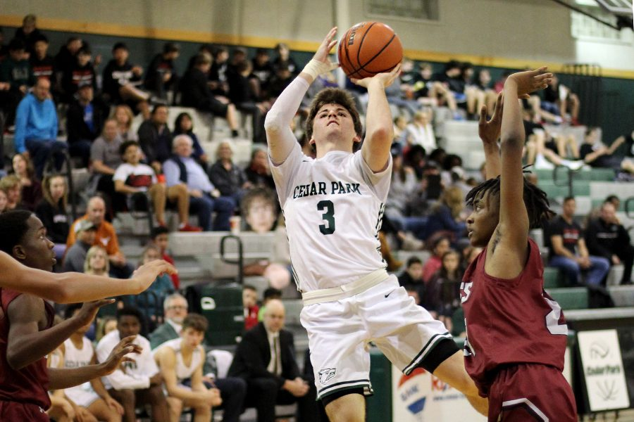 After years of basketball, senior point guard Karson Cater is going to Texas State to study finance.