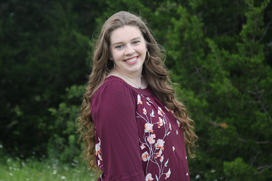 "Senior Kristin Knight is continuing her passion for health and service by studying nursing at The University of Alabama this fall. ""They have a really great nursing school and I've lived in Austin my whole life, so being able to go to a new state and experience new things is a great opportunity,"" Knight said."