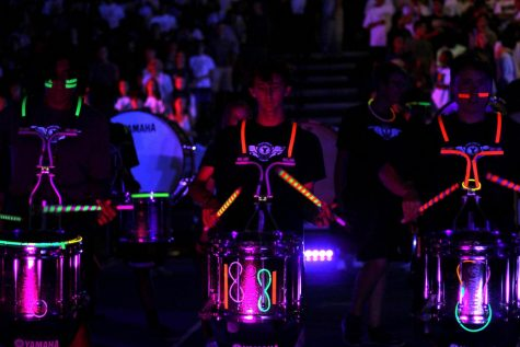 Blacklight Pep Rally Slideshow