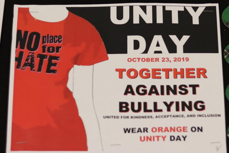 "On Oct. 23, No Place For Hate will host Unity Day. Participants are encouraged to wear orange and sign the resolution of respect in the counseling office. ""We are really focusing on promoting kindness throughout the community,"" NPFH president, senior Nasreen Marikar said. ""[We] want to create an accessible way for students to participate."""
