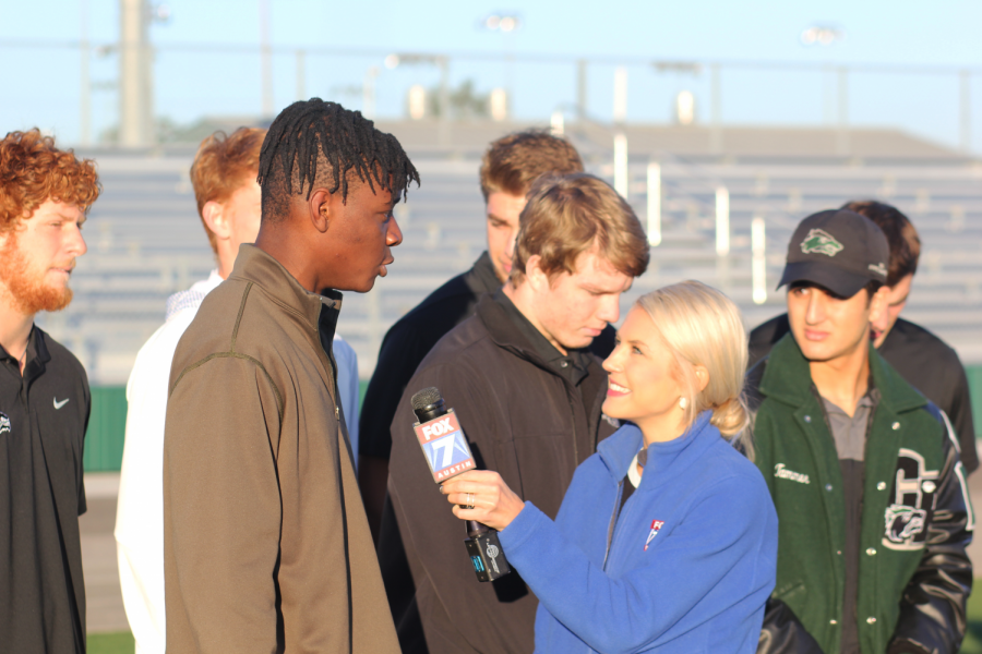 Senior WR Will Udoye shares his thoughts with Fox 7 on the Hutto game.