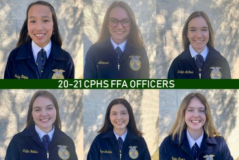 "All seven of the FFA officers participated in the District LDE competition. The public relations team, the senior creed speaking team, chapter conducting and job interviewing will all advance to Area.  ""We're basically doing what we did to prepare for area, just more hardcore,"" FFA Club President and senior Skye Lindholm said. ""We're drilling questions and making sure we speak with emotion when we say our script. We were more focused on just getting the script correct for District, but now we're focusing on emotion and voice tones and/or inflections since we have the script down."""