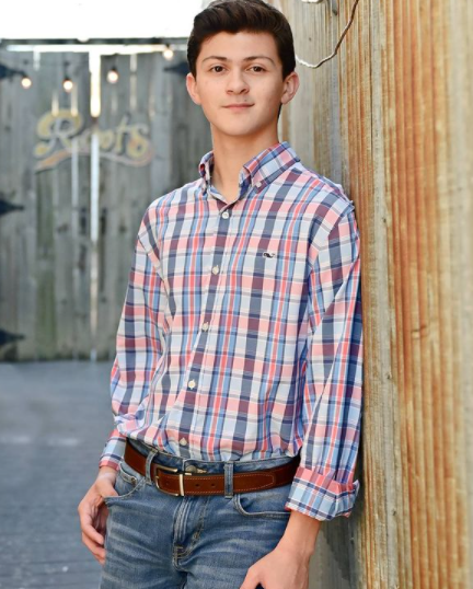 Senior Aidan Brown has played the saxophone since the beginning of middle school. He plans to continue his music career at UT Austin, where he is majoring in Music Performance.